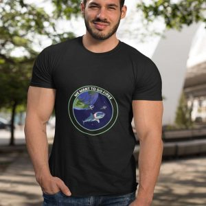 we want to go first guru t shirt ufo arrival collecction 15