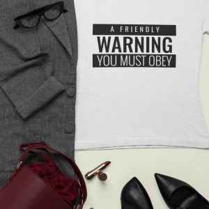 a friendly warning guru t shirt warning collection 1 2019