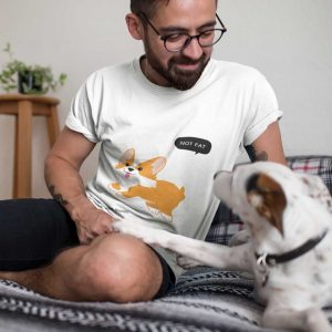 guru tshirt not fat collection jack russell